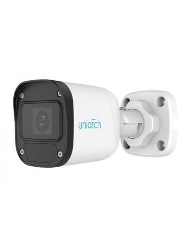 4MP Uniarch Bullet IPCamera, Ottica Fissa, 2.8mm Ultra265
