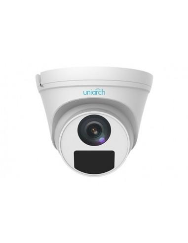 4MP Uniarch Turret IPCamera, Ottica 2.8mm Ultra265, 3-Axis