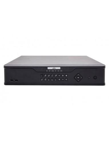 NVR UNV 64 Canali, 12 Megapixel, Ultra 265, 8 HDDs RAID 3