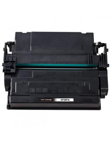 Toner for Printer Hp CF287A Black compatible