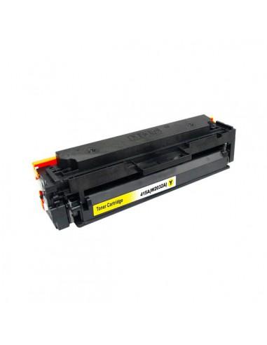 HP 415A W2032A | (2100 copie) (Y) | Toner Comp. Reman. senza