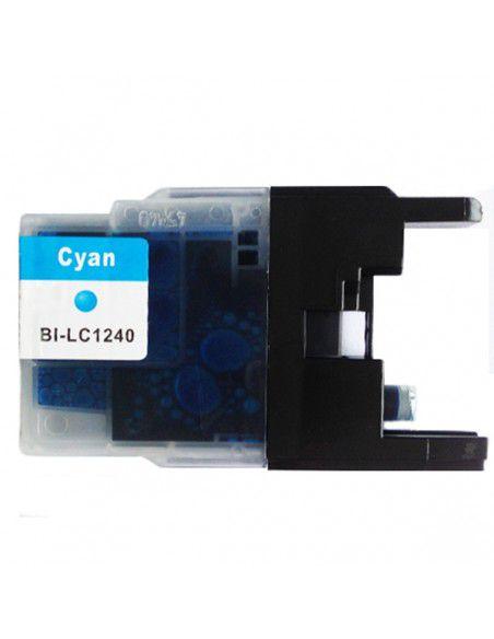 Cartuccia per Stampante Brother LC 1240 XL Ciano compatibile