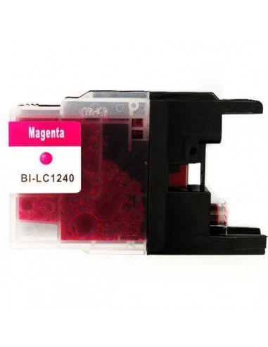Patrone für Drucker Brother LC 1240 XL Magenta kompatibel