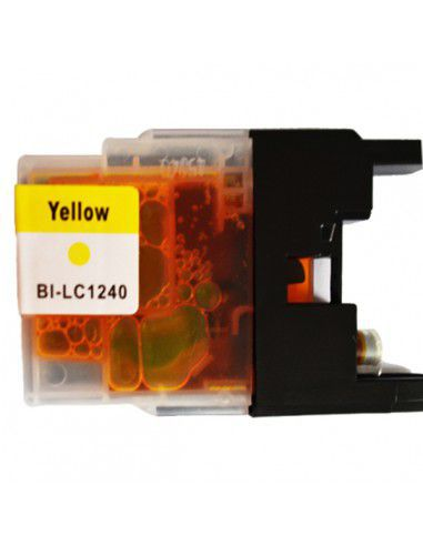 Cartridge for Printer Brother LC 1240 XL Yellow compatible