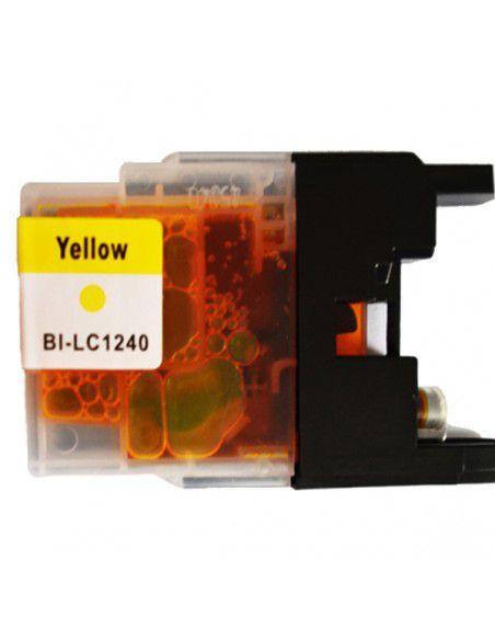 Patrone für Drucker Brother LC 1240 XL Gelb kompatibel
