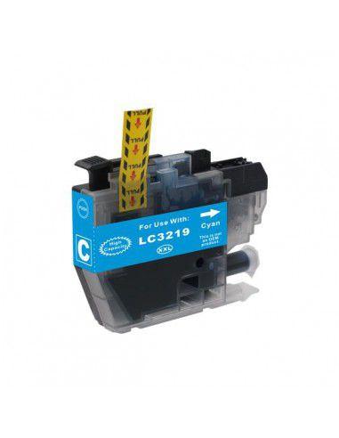 Cartucho para impresora Brother LC 3219 XL Cian compatible