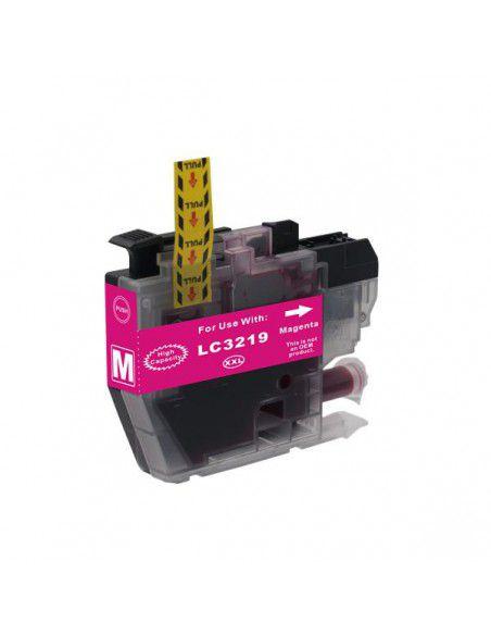 Patrone für Drucker Brother LC 3219 XL Magenta kompatibel