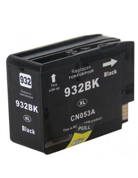 Patrone für Drucker Hp 932 XL Schwarz kompatibel