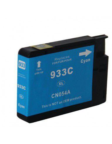 Patrone für Drucker Hp 933 XL Cyan kompatibel