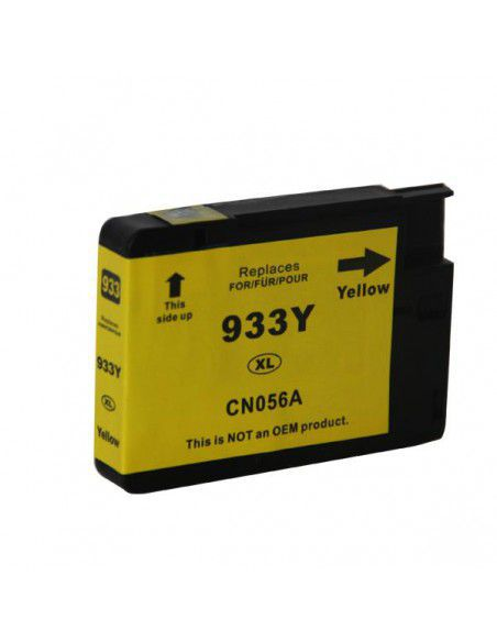 Cartridge for Printer Hp 933 XL Yellow compatible
