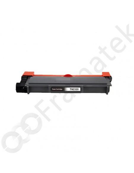 Toner pour imprimante Brother TN 2310, 2320 Noir compatible