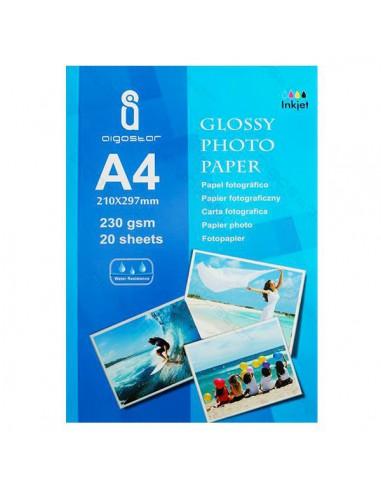 Carta Fotografica formato A4 (21cm X 29,7cm) - 20 Fogli - 230gr - Vendita online - Fotografica