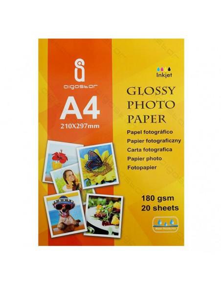 Carta Fotografica formato A4 (21cm X 29,7cm) - 20 Fogli - 180gr
