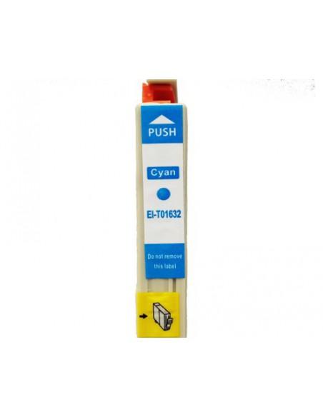 Cartridge for Printer Epson 1632 Cyan compatible