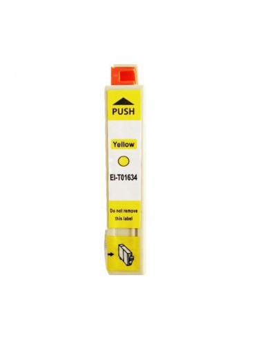 Cartridge for Printer Epson 1634 Yellow compatible