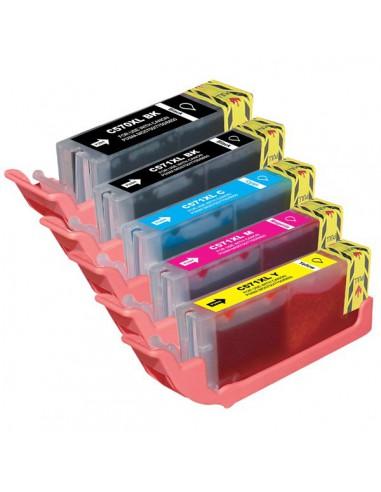 Cartridge for Printer Canon CL 571 XL Black compatible