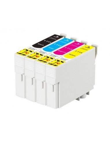 Patrone für Drucker Epson 712 Cyan kompatibel