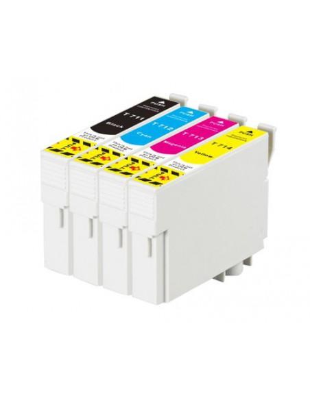Cartridge for Printer Epson 711 Black compatible