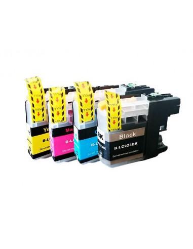Cartucho para impresora Brother LC 223 XL Amarilla compatible