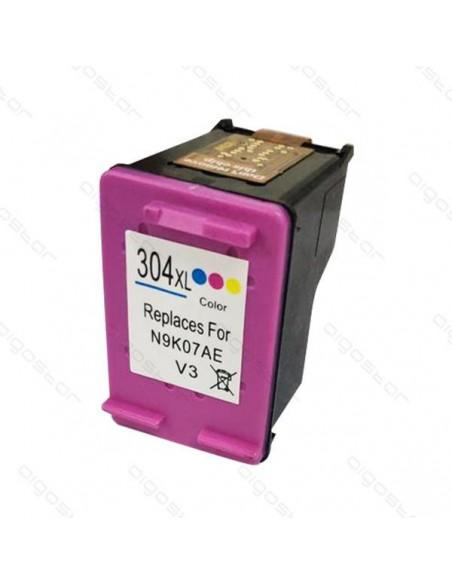 Cartucho para impresora Hp 304 XL Colori compatible